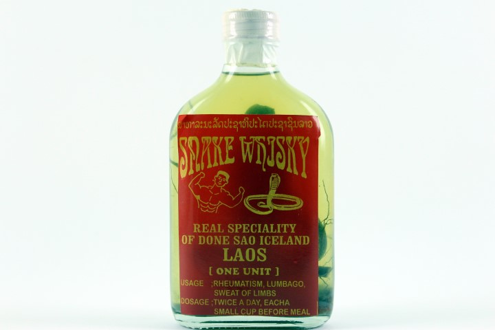 Snake Whiskey Authentic from Laos